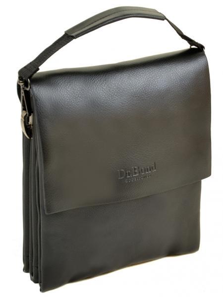 Мужская сумка планшет иск-кожа DR. BOND 308-1 black