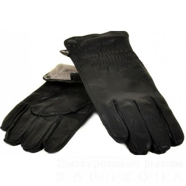 Мужские перчатки олень Flagman Артикул М-22-2-11 - Мужские перчатки на рынке Барабашова