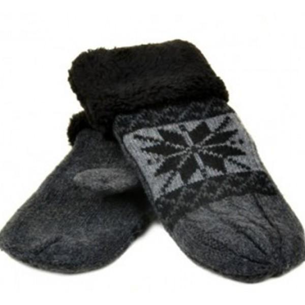 Женские перчатки-варежки вязка Мари Fashion Артикул К275-В