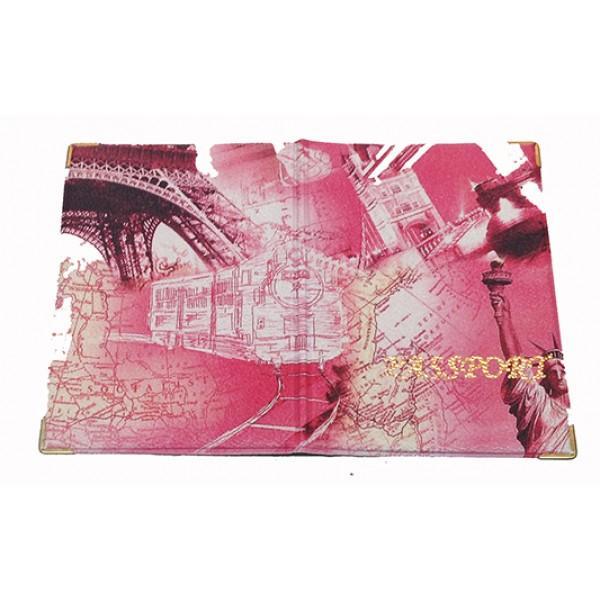 Обложка на паспорт Артикул 11-К Париж №01