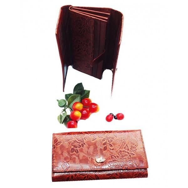 Женский кошелек Fani Артикул WP-81-85242 коричневый