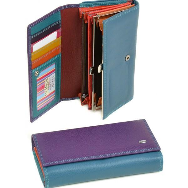 Фото  Женский кошелек Rainbow Dr.Bond Артикул W 46 фиолетовый