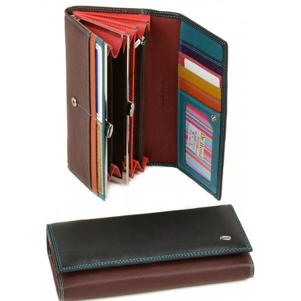 Женский кошелек Rainbow Dr.Bond Артикул W1-V черный