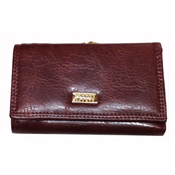 Женский кошелек Canevo Артикул TJ-8830 коричневый