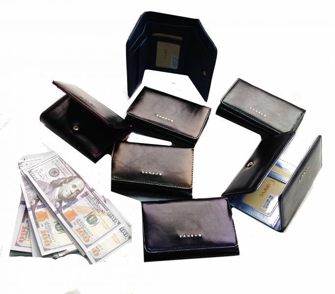 Женский средний кошелек Canevo Артикул 8165 в ассортименте