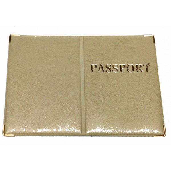 Обложка на Заграничный паспорт Артикул 990 золото
