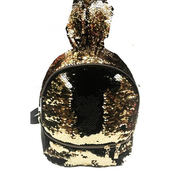 Фото  Городской молодежный рюкзак пайетки  Артикул 106-230 №02