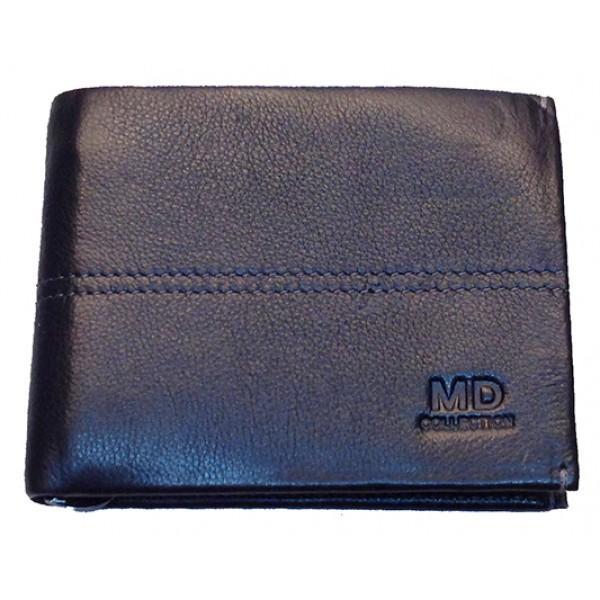 Кошелек мужской MD Collection магнит Артикул 555-7