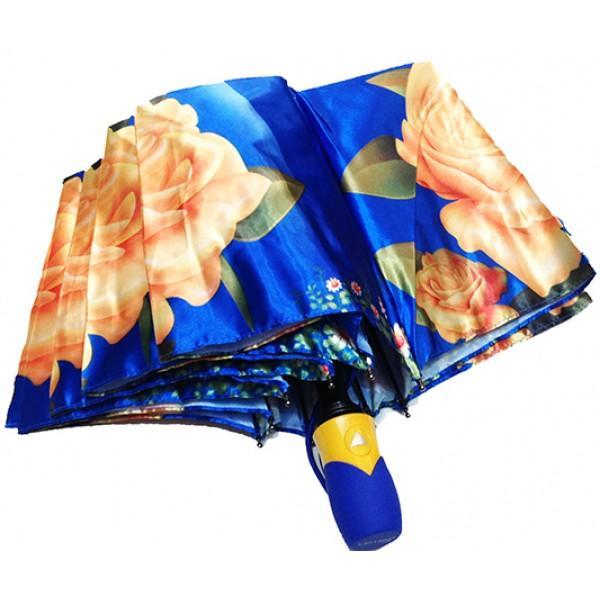 Женский зонт полуавтомат 3 сложения Lanmana Артикул 635-188 №01