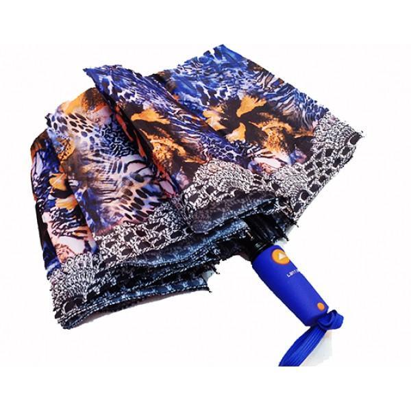 Женский зонт полуавтомат 3 сложения Lanmana Артикул 635-174 №01