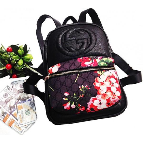 Городской молодежный рюкзак Gucci Артикул 3-20-20-2 черный 7