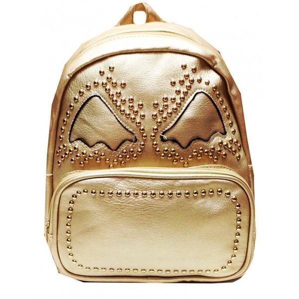 Городской молодежный рюкзак Артикул 230-10 золото