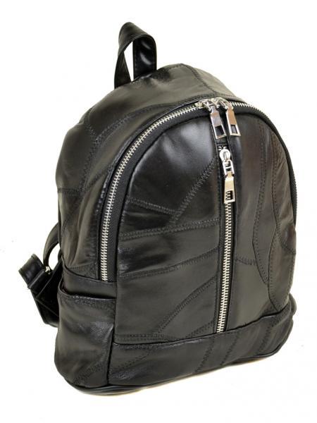 Рюкзак Городской кожа ALEX RAI 1-04 1706-1 black