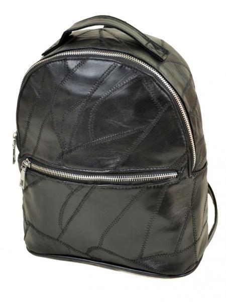 Рюкзак Городской кожа ALEX RAI 1-04 1707-2 black