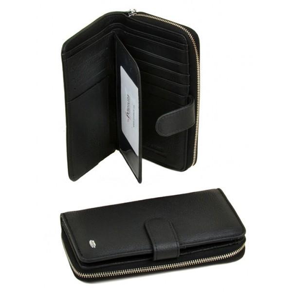 Женский кошелек Classik Dr.Bond Артикул W21-17 черный