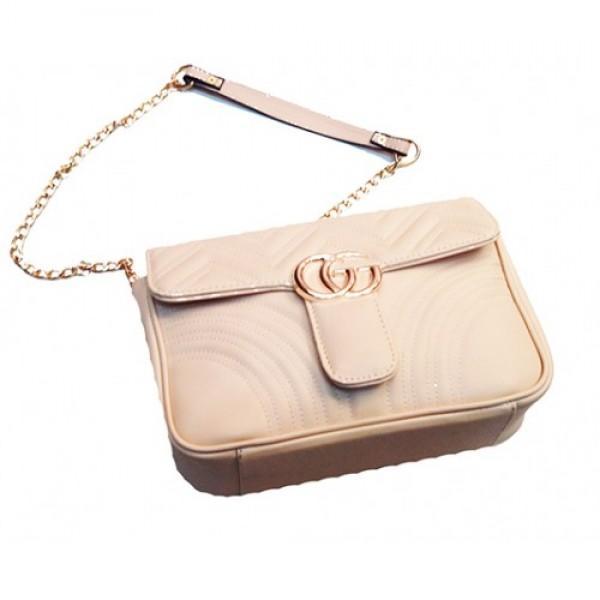 Фото  Женская сумка Gucci Артикул 3-20 бежевая