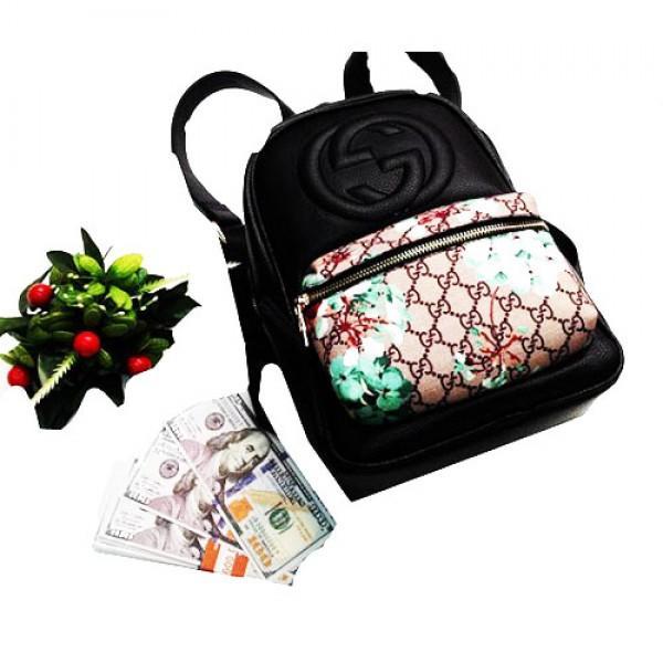 Фото  Городской молодежный рюкзак Gucci Артикул 3-20-20-2 черный1