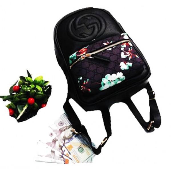 Фото  Городской молодежный рюкзак Gucci Артикул 3-20-20-3 черный2