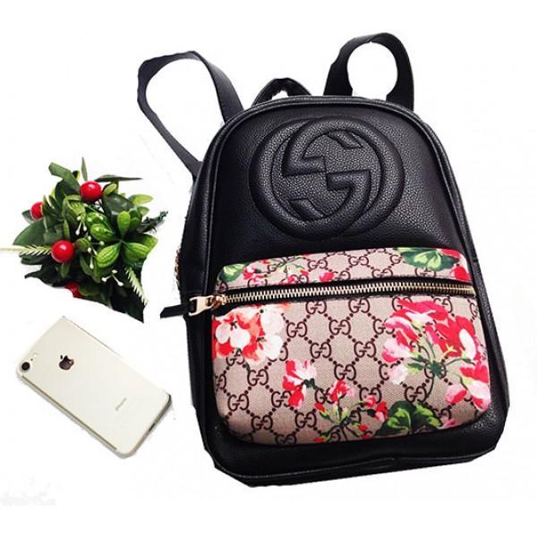Фото  Городской молодежный рюкзак Gucci Артикул 3-20-20-4 черный3