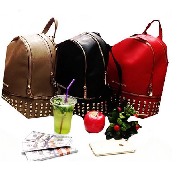 Фото  Городской молодежный рюкзак Michaei Kors Артикул 6-22-22-6 красный