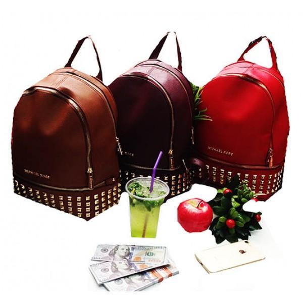 Городской молодежный рюкзак Michaei Kors Артикул 6-22-22-4 коричневый