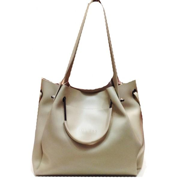 Женская сумка GUESS Артикул 4-18-18 бежевая