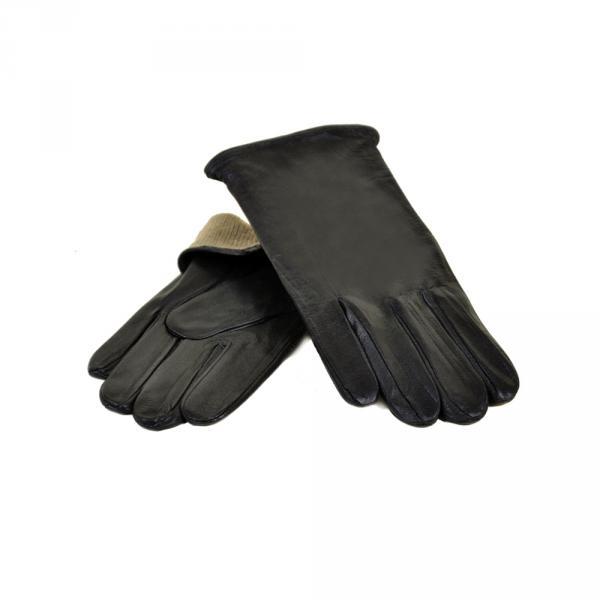 Перчатка Мужская кожа МариClassic M21-1/17 мод5 black махра