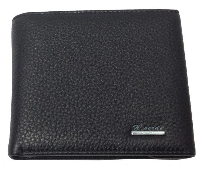 Мужской средний кошелек H.verde 043