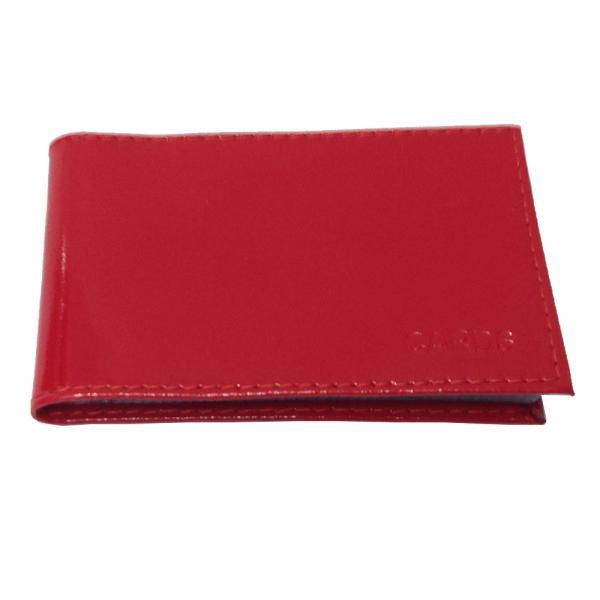 Визитница 0050-1 Цвет красный