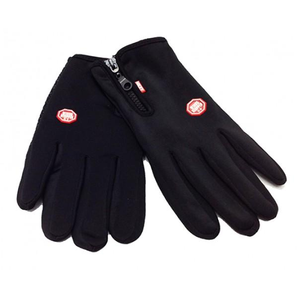 Перчатки спортивные водонепроницаемые черные Артикул P 65