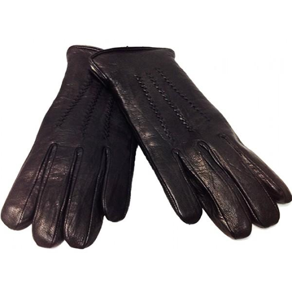 Мужские перчатки Fioretto овчина Артикул P-125 №1 черные