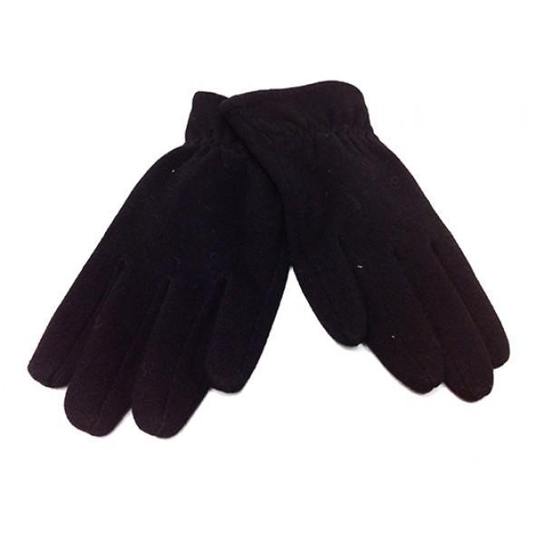 Мужские перчатки Boxing кашемир Артикул  P-0021 черные