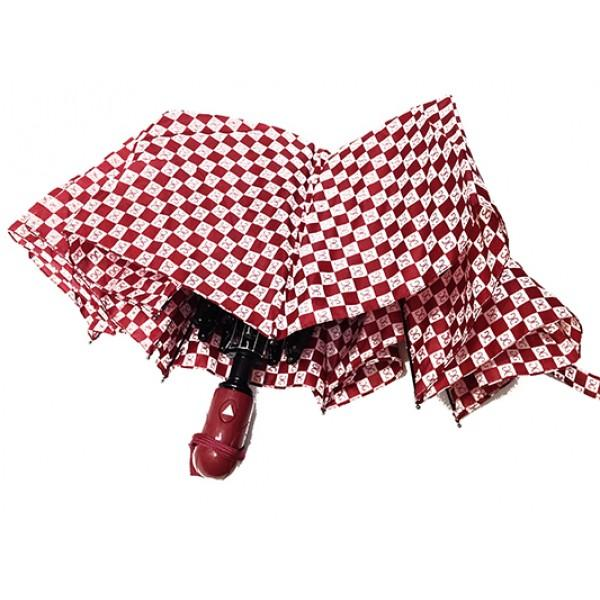 Женский зонт Paolo Rosi  полуавтомат Артикул P- 456 бордовый