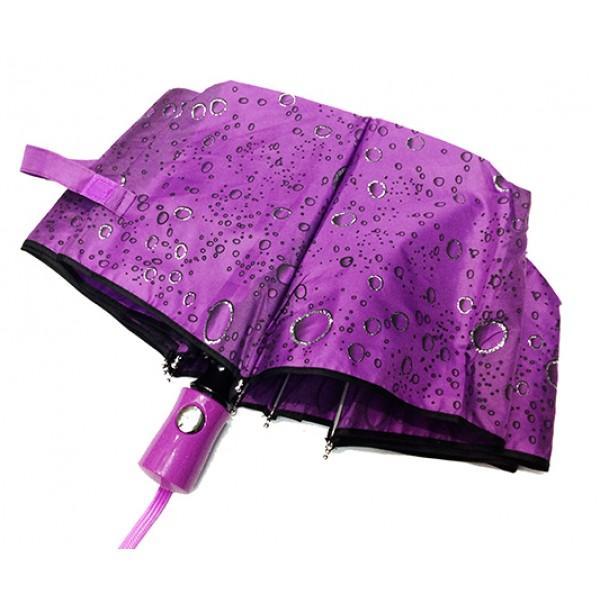 Женский зонт Pasio автомат Артикул P-6893 фиолетовый