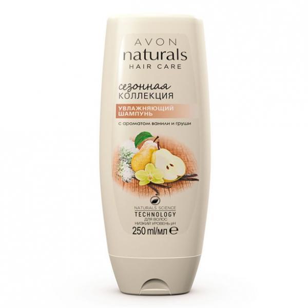 Фото для волос, naturals Ополаскиватель для волос с ароматом ванили и груши (250 мл)