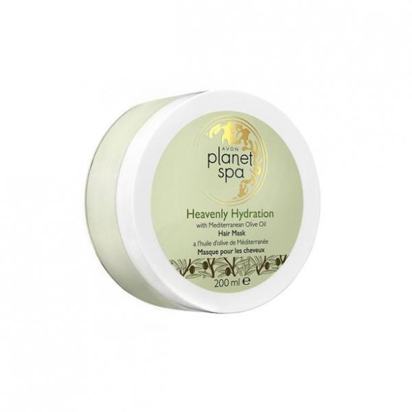 Фото для лица, planet spa Маска для волос с маслом оливы «Райское увлажнение», 200 мл