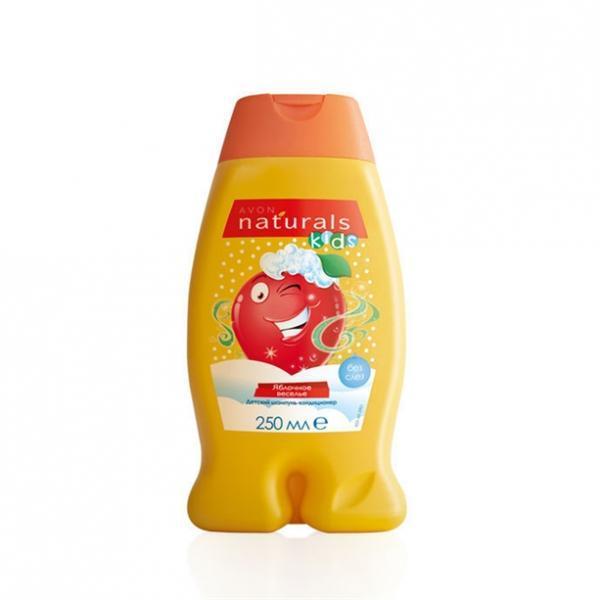Детский шампунь-кондиционер «Веселое яблочко», 250 мл