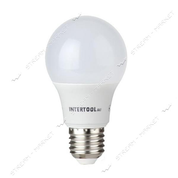 Лампа светодиодная INTERTOOL LL-0014 А60, Е27, 10Вт, 150-300В, 4000К