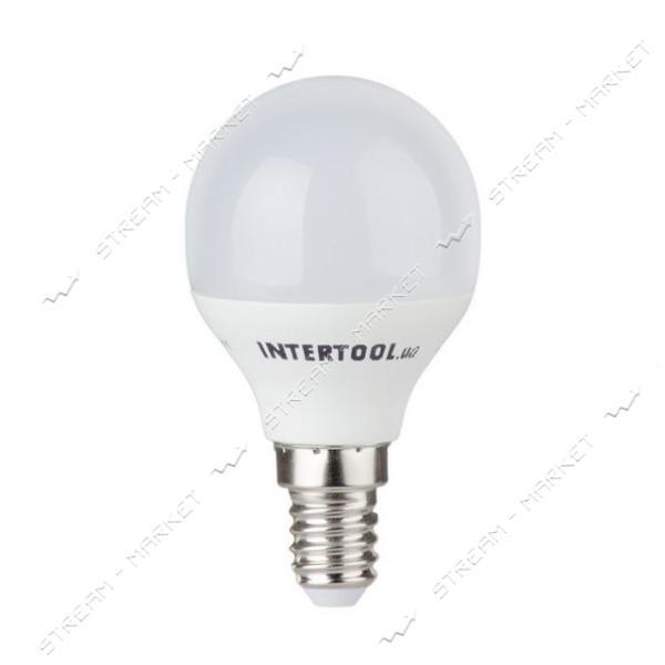 Лампа светодиодная INTERTOOL LL-0102 Р45, Е14, 5Вт, 150-300В, 4000К