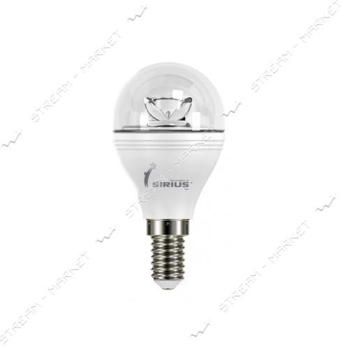 SIRIUS Лампа светодиодная G45 LS-3408 6W 4000/4100K нейтральная Е27
