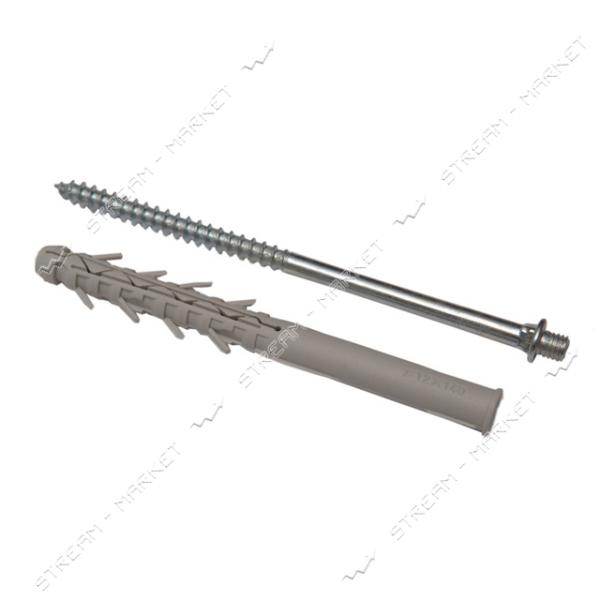 Винт-шуруп крепежный с дюбелем RAINWAY 160 мм