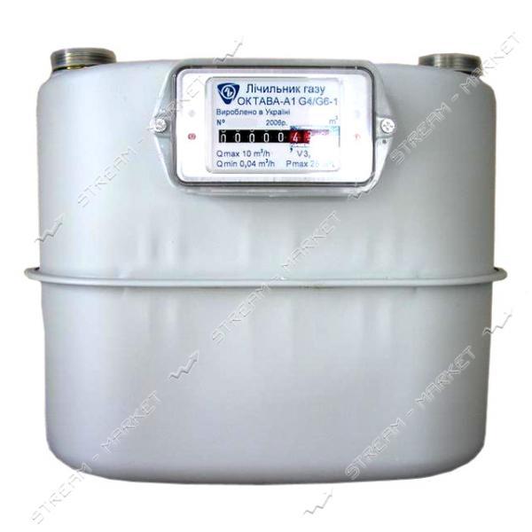 Газовый счетчик ОКТАВА мембранный G2.5 d20