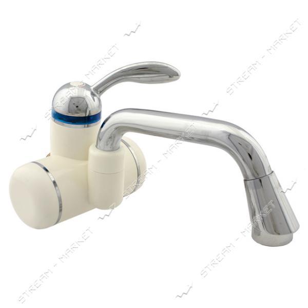 Смеситель для кухни настенный ZERIX ELW-05W проточный водонагреватель