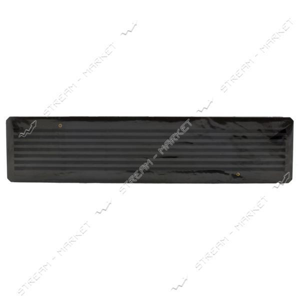 Решетка вентиляционная дверная двухсторонняя пластик (установочный 430*90 мм.) коричневая (Харьков)