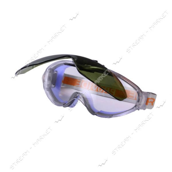 Очки Z0-0010 PROVAID Поликарбонатное прозрачное стекло, антицарапина, не потеющие линза DIN6