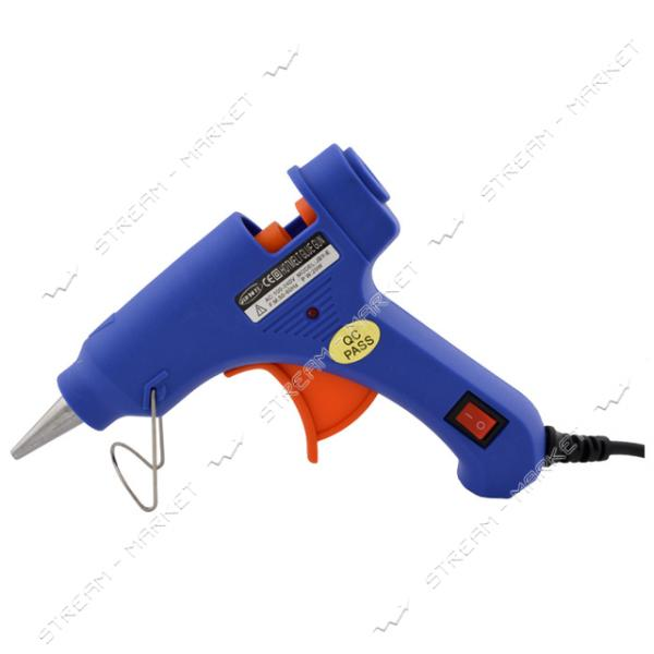 Пистолет клеевой 20Вт к стержням 8мм (с выключателем)