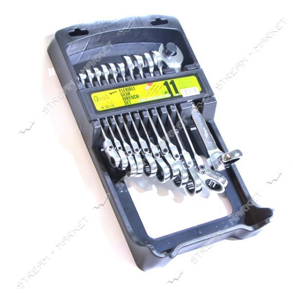 ALLOID (НК-2081-11К) Набор комбинированных ключей трещоточных с карданом 11 предм. (8-19мм)