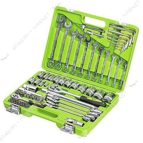 ALLOID (НГ-4077П) Набор инструментов 1/4', 1/2', 77 предм.