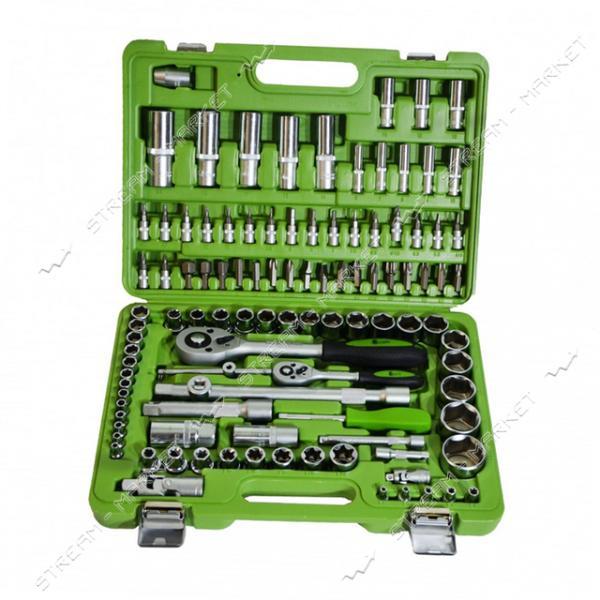 ALLOID (НГ-4108П-6) Набор инструментов 1/4', 1/2', 108 предм.(6 гран.)