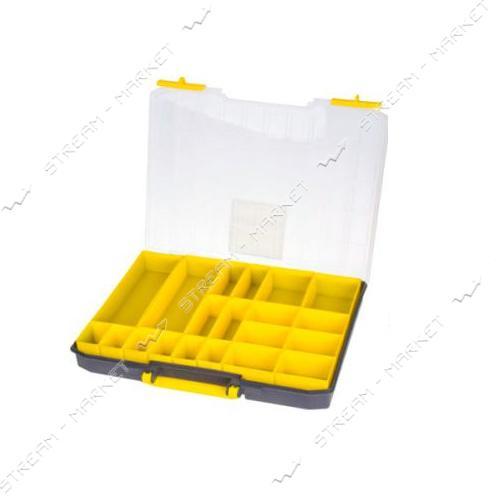 ALLOID (MJ3135) Ящик для метизов пластиковый 16.5' 415х330х55мм 20 ячеек